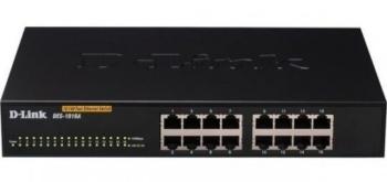 D-Link DES-1016A 16-Port Fast Ethernet Unmanaged Desktop Switch