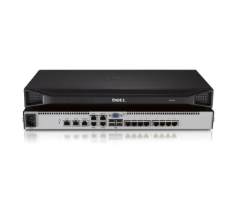 Dell DAV2108 8-Port Analog Switch (Upgradeable to Digital KVM Switch With One Local User, Single Power Supply)