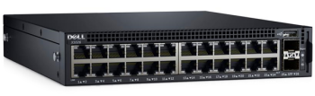 Dell Networking X1026 24x 1GbE PoE (up to 12x PoE+) and 2x 1GbE SFP Ports Smart Web Managed Switch With 3 Years Warranty