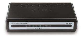 D-Link DES-1008A 8-Port 10/100Mbps Network Switch