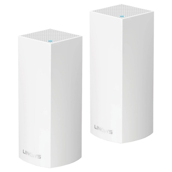 Linksys Velop Tri-Band AC4400 Whole Home Mesh Wi-fi System- Pack of 2