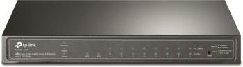TP-Link JetStream 8-Port Gigabit Smart POE Switch with 2 SFP Slots