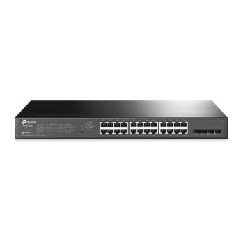 TP-Link JetStream 24-Port Gigabit Smart PoE+ Switch with 4 SFP Slots