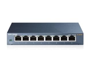 TP-Link TL-SG108 8-Port 10/100/1000Mbps Desktop Switch