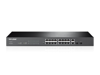 TP-Link TL-SL2218 16-Port 10/100Mbps + 2-Port Gigabit Smart Switch