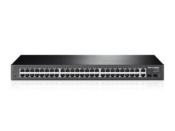 TP-Link TL-SL2452 48-Port 10/100Mbps + 4-Port Gigabit Smart Switch