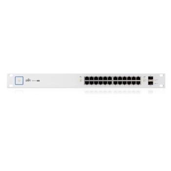 Ubiquiti US-24-500W 24 Ports Managed PoE+ Gigabit Switch