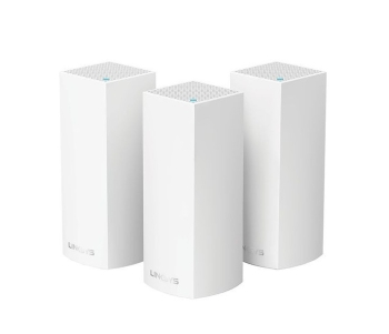 Linksys Velop Tri-Band AC6600 Whole Home Mesh Wi-fi System- Pack of 3